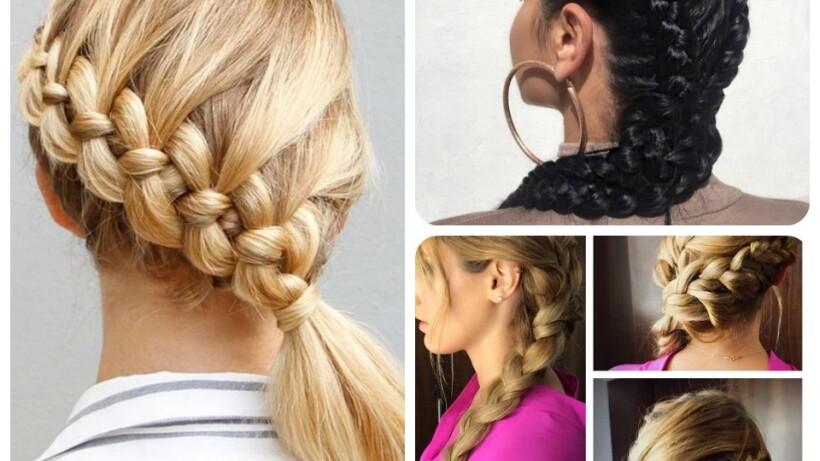 Peinados Trenzas La Mejor Opcion Para Este 15 De Septiembre - Peinados-con-tranzas
