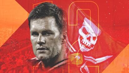 Tom Brady quiere llevar lejos a los Tampa Bay Buccaneers.