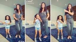 En este video Aitana Derbez demostró bailar mejor que su mamá