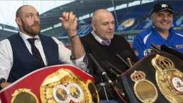 """John Fury llama """"Rey de los viejos"""" a Mike Tyson y lo reta"""