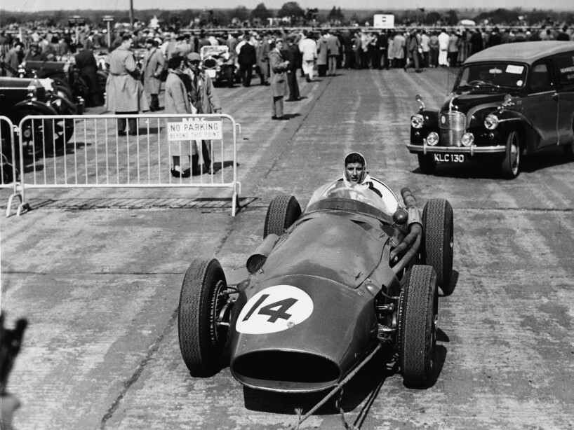 De Filippis At Silverstone