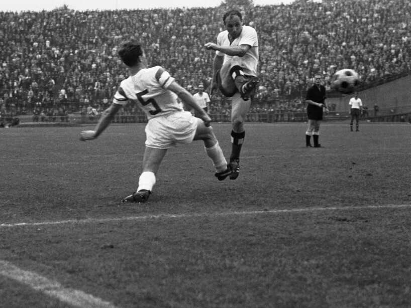 Germany Hamburg Bundesliga Uwe Seeler