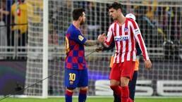 Messi tiene en Álvaro Morata a un cliente predilecto
