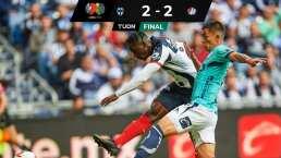 ¡Maldición Rayada! San Luis le arrebata primer triunfo a Monterrey