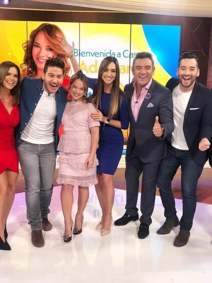 Adamari López por fin se encuentra recuperada de salud, lista para continuar con su trabajo como presentadora en Un nuevo día.