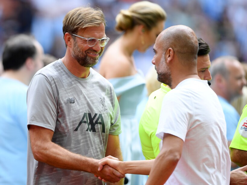 Liverpool v Man City - FA Community Shield