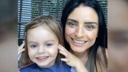 '¿Estás triste mamá?': Kailani enternece al interrumpir transmisión de Aislinn Derbez con inesperada pregunta