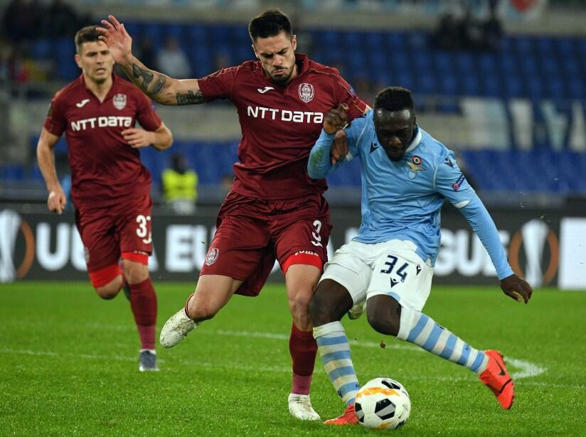 Lazio Roma v CFR Cluj: Group E - UEFA Europa League
