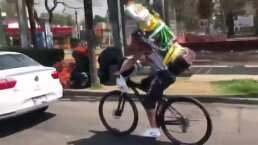 Recordar es volver a vivir: El choque del San Juditas en bici que se volvió meme