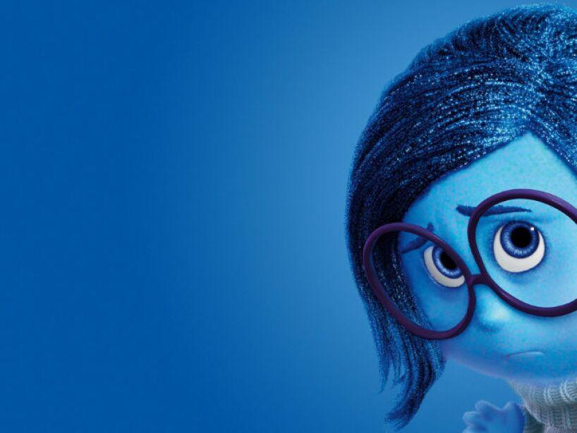 7. Sadness: La Tristeza nos puso de buenas en el mega éxito animado de Inside Out, un triunfo de Pixar.