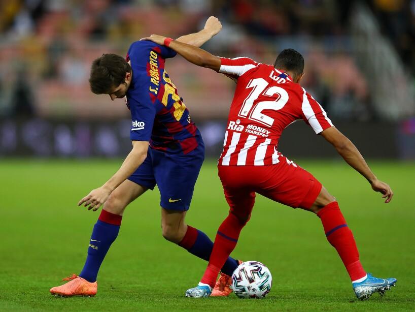 Tras un juego sorpresivo, los del Cholo se impusieron 3-2 y disputarán la final ante el Real Madrid. Koke (46') abrió el marcador para Atlético de Madrid. Messi (51') y Griezmann (62') anotaron para dar vuelta al partido. Morata (81') marcó de penal y Correa (86') puso el tercero de los 'colchoneros'.