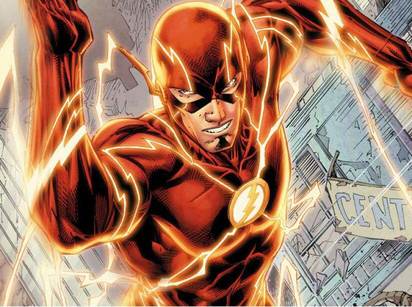 5. THE FLASH (Barry Allen): Aparte de súper velocidad, tiene una habilidad especial para los reflejos.
