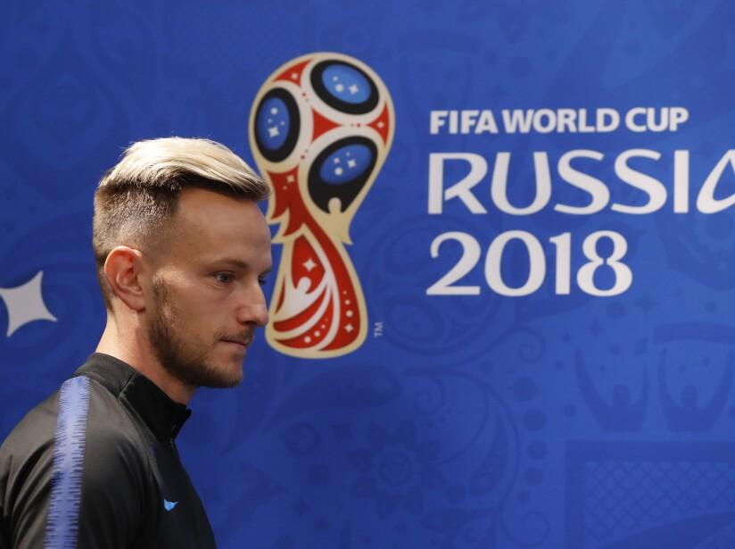 Russia Soccer WCup Croatia Argentina