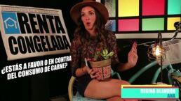 """Ana contra el consumo de carne y el """"fertilizante"""" de Federico"""