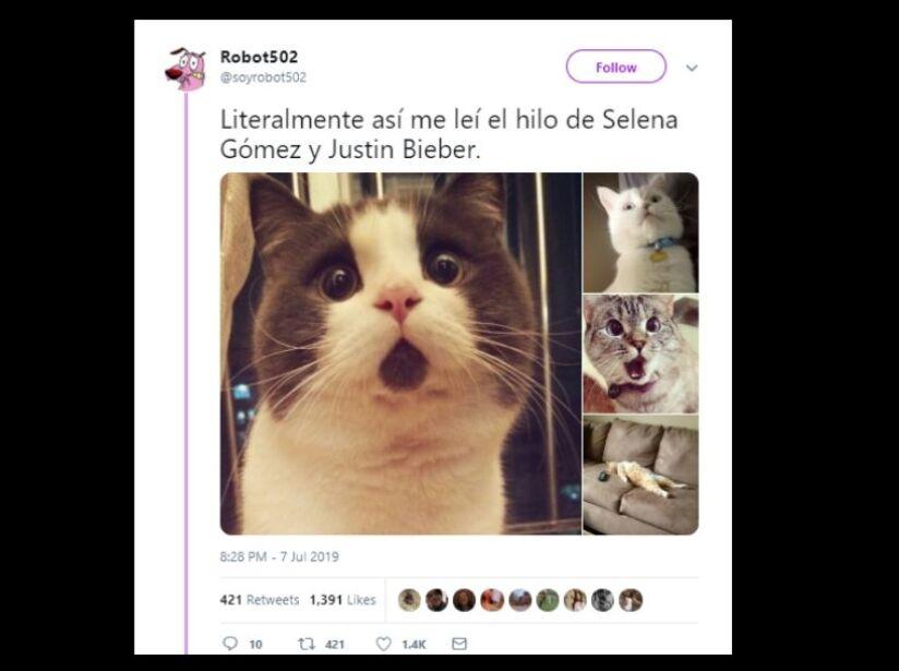 Los mejores memes del drama de Justin Bieber y Selena Gomez