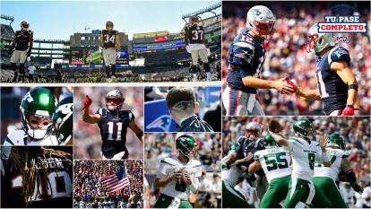 En su tercer partido de temporada, los Patriots juegan como local en el estadio Gillette en contra de los New York Jets.