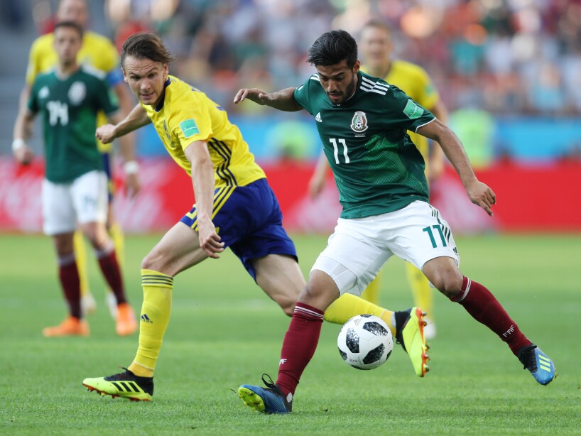 Mexico v Sweden: Group F - 2018 FIFA World Cup Russia