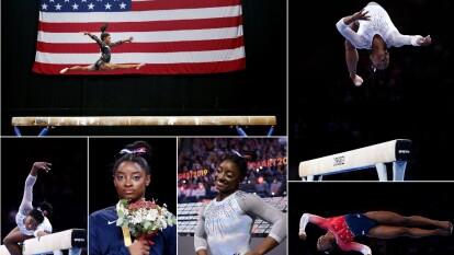 La gimnasta estadounidense de 22 años se puso arriba de sus contrincantes con 58.999 puntos, llevándose el campeonato de gimnasia artística.