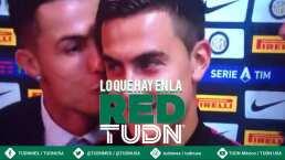 ¡Imperdible! El beso de Cristiano a Dybala