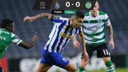 Tecatito trabajó mucho pero el Porto no pudo ganar