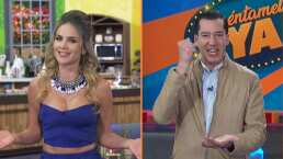 Ximena Córdoba le cambia el nombre a Angelique Boyer en los mejores BLOOPERS de 'Cuéntamelo ya!'