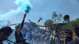 Afición de San Luis enciende el clásico ante Querétaro