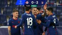 Héctor Herrera y Atlético de Madrid avanzan en Champions League