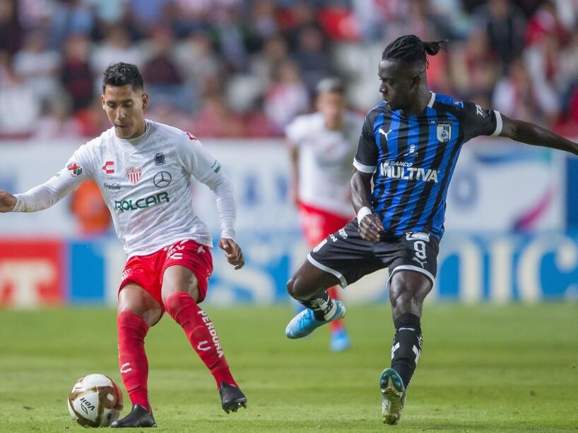 Con goles de Calderon (52'), Gallegos (82') y Herrera (91') se llevan la ventaja de tres goles al partido de vuelta.