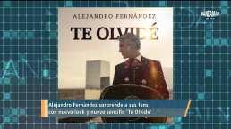 Con nuevo look, Alejandro Fernández prepara su gira y nuevo sencillo