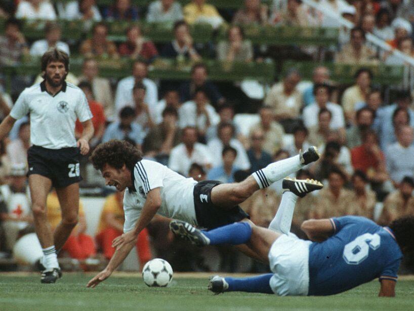 World Cup 1982 Germany v Italy
