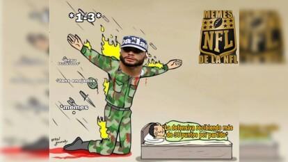 Los memes de la semana cuatro llegan con todo y golpean de nuevo a los Dallas Cowboys.