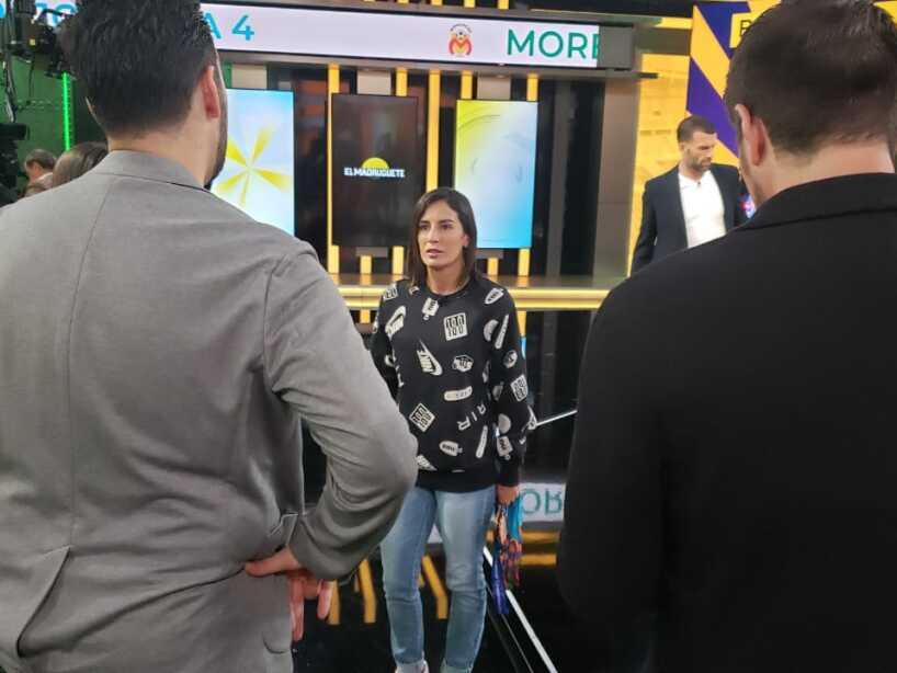 Paola Espinosa en TUDN.