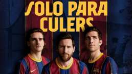 Messi lidera presentación de nueva camiseta del Barcelona