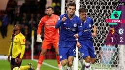 Christian Pulisic anota y Chelsea es tercero en la Premier League