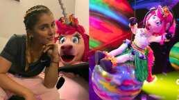 Cassandra Sánchez Navarro cuenta cómo recreó 'Wrecking Ball' de Miley Cyrus en su personaje de Unicornio
