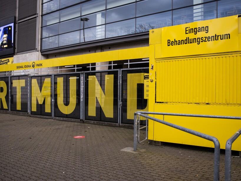 Signal Iduna Parks North Stand Converted To Coronavirus Care Facility