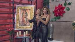 Itatí Cantoral se anima a cantar de nuevo 'La Guadalupana' con Andrea Escalona en Hoy