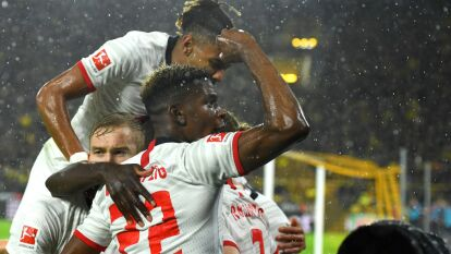 Borussia Dortmund 3-3 RB Leipzig.