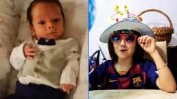 André, hijo de Sherlyn, se viste muy elegante para celebrar el cumpleaños de su primo