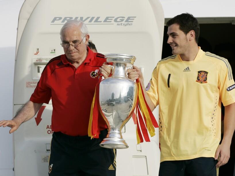 Luis Aragones, Iker Casillas