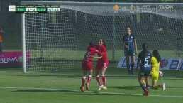 ¡Qué suerte! Toluca se adelanta 1-0 con un autogol de Paola Urbieta