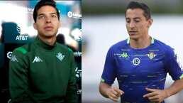 Sin Diego Lainez, pero con Guardado, Betis entrenó en Puebla