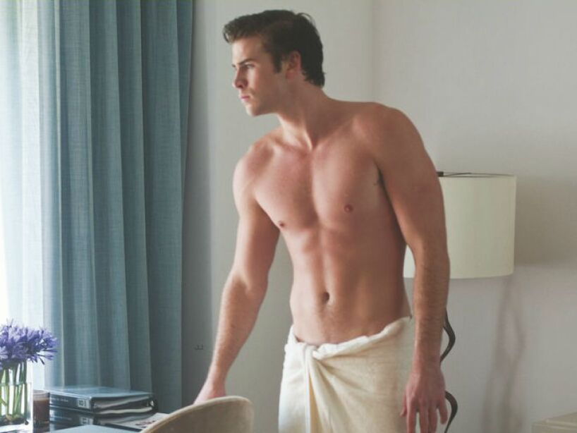 5. Liam Hemsworth: Imposible no amarlo en Los Juegos del Hambre y Los Indestructibles 2.