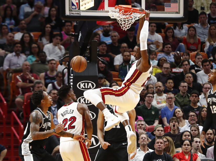 Miami Heat 106-100 San Antonio Spurs
