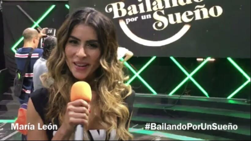 María León invita a no perderse Bailando por un Sueño