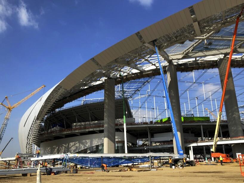 SoFi Stadium Progress