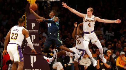En un partidazo, Luka Dominic le gana la partida a LeBron James y corta la racha ganadora de los Lakers 100-114 a favor de los Mavericks.