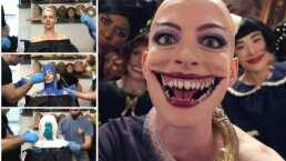 Anne Hathaway comparte su increíble transformación y horas nalga para ser La Gran Bruja