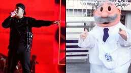 ¡Pelea de botargas! Daddy Yankee enfrenta al Dr. Simi en una reta de perreo