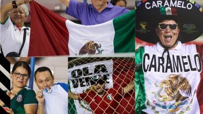 Con la noche encima y la gente llegando al estadio, la ciudad de Panamá esta lista para el Panamá vs México.
